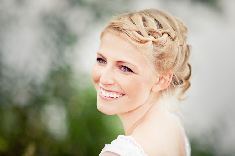 bridal hairstyle / bridal make up : uta stabler photography : marlen mieth