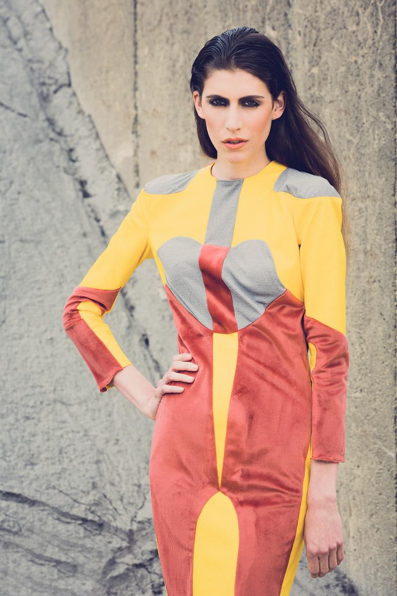 hair / make up : uta stabler     photography : david pinzer  fashiondesign : kati singer