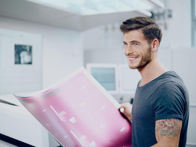Koenig & Bauer Sheetfed AG & Co. KG imagekampagne